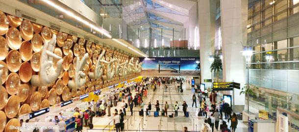 Delhi Indira Gandhi DEL Airport